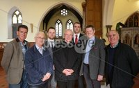 Wednesday 13th September 2017. Mandatory Credit ©Lorcan Doherty Press Eye . Christ Church attacked by vandals . Archdeacon Robert Miller Bishop Donal McKeown with local politicians John Boyle, Drew Thompson, Gary Moiddleton, Mark H Durkan and Raymond McCartney.. Mandatory Credit ©Lorcan Doherty. Vandals who broke into a Londonderry church have smashed windows and damaged an organ reputed to be one of the most beautiful in Ireland.. The break-in at Christ Church on Infirmary Road was discovered late on Tuesday.. A decanter used in Holy Communion services was also stolen.. Police have yet to establish a motive for the attack, which the Bishop of Derry and Raphoe, the Right Rev Ken Good, has described as