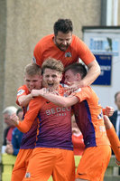© Presseye.com- August 12th 2017, Danske Bank Premiership.. Warrenpoint Town v Glenavon %:30 Kick off.. Glenavon\'s Marc Griffin. celebrates after scoring to make it 0-2. during Saturday\'s match at Milltown. Photo by TONY HENDRON/Presseye.com. .