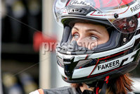 PressEye - Belfast - Northern Ireland - 21st April 2017. The Around-A-Pound Tandragee 100 Road Races.. Pictured: Veronika Hankocyová.. Picture: Philip Magowan / PressEye