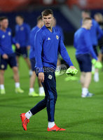 Press Eye - Belfast, Northern Ireland - 09th October 2019 - Photo by William Cherry/Presseye. Northern Ireland\'s Paddy McNair during Wednesday nights training session at Stadium Feijenoord ahead of Thursday nights UEFA Euro 2020 Qualifier against Netherlands in Rotterdam. Photo by William Cherry/Presseye