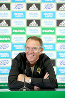 Press Eye - Belfast - Northern Ireland - 21st August 2019 - Picture Matt Mackey / Press Eye.. Kenny Shiels reveals his squad for forthcoming UEFA Women\'s Euro 2021 qualifiers against Norway and Wales.
