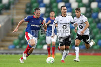 Press Eye - Belfast -  Northern Ireland - 10th July 2019 - Photo by William Cherry/Presseye/Inpho. Linfield\'s Jamie Mulgrew during Wednesday nights Champions League, Qualifying First Round, 1st Leg game at the National Stadium at Windsor Park, Belfast.