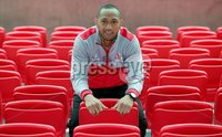 Press Eye Belfast - Northern Ireland 10th October 2017. Ulster Rugby press conference at the Kingspan Stadium in east Belfast ahead of their Champions Cup fixture versus Wasps on Friday night.  . Christian Lealiifano . . Picture by Jonathan Porter/Inpho .