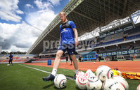 Press Eye - Belfast -  Northern Ireland - 02nd June 2018 - Photo by William Cherry/Presseye. Northern Ireland\'s Liam Boyce pictured during Saturday mornings training session at the Nuevo Estadio Nacional de Costa Rica in San Jose ahead of Sundays Friendly International against Costa Rica.. Photo by William Cherry/Presseye