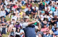 2018 Dubai Duty Free Irish Open - Day 1, Ballyliffin Golf Club, Co. Donegal 5/7/2018. Lee Westwood tees off at the eighth hole. Mandatory Credit ©INPHO/Oisin Keniry
