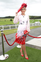 Press Eye - Belfast - Northern Ireland - 11th August 2019. Grainne Carr from Kildare pictured at the Downpatrick Racecourse Style Sunday race meeting. . Photograph by Declan Roughan / Press Eye