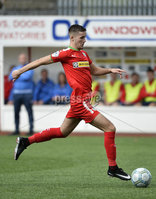 Press Eye Belfast - Northern Ireland 12th August 2017. Danske Bank Irish Premier league match between Cliftonville and Ards at Solitude Belfast.. Jay Donnelly .  Photo by Stephen  Hamilton / Press Eye