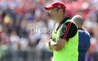 Ulster GAA Senior Football Championship Final, St Tiernach\'s Park, Clones, Co. Monaghan 16/7/2017. Down vs Tyrone. Down manager Eamonn Burns. Mandatory Credit ©INPHO/Morgan Treacy