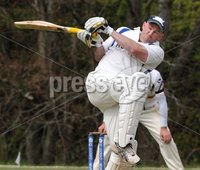 © Presseye Press Eye Ltd- Northern Ireland. May 5th 2012. Mandatory Credit Photo by Presseye.com. . NCU Ulster Bank Premier League. Instonians v CIYMS.. CIYMS\'s Jeremy Bray