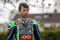 PressEye - Belfast - Northern Ireland - 21st April 2017. The Around-A-Pound Tandragee 100 Road Races.. Pictured: Michael Sweeney.. Picture: Philip Magowan / PressEye