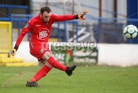 Danske Bank Premiership, Showgrounds, Coleraine 4/8/2018. Coleraine vs Warrenpoint. Warrenpoint goalkeeper Jonny Parr. Mandatory Credit ©INPHO/Lorcan Doherty