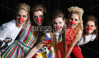 Belfast Fashion Week Red Nose Day.