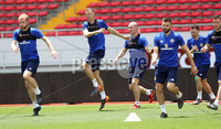 Press Eye - Belfast -  Northern Ireland - 02nd June 2018 - Photo by William Cherry/Presseye. Northern Ireland\'s Jonny Evans pictured during Saturday mornings training session at the Nuevo Estadio Nacional de Costa Rica in San Jose ahead of Sundays Friendly International against Costa Rica.. Photo by William Cherry/Presseye