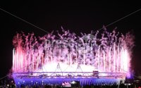 2012 London Olympic Games Opening Ceremony, Olympic Stadium, London, England 27/7/2012. General view of the Opening Ceremony. Mandatory Credit ©INPHO/Dan Sheridan