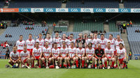 Lory Meagher Final, Croke Park, Dublin 9/6/2012. Fermanagh vs Tyrone. The Tyrone squad . Mandatory Credit ©INPHO/Ryan Byrne