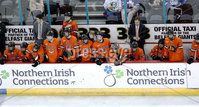 Press Eye - Belfast, Northern Ireland - 30th November 2019 - Photo by William Cherry/Presseye. Princeton Tigers during Saturday afternoons Friendship Four game against UNH Wildcats at the SSE Arena, Belfast.      Photo by William Cherry/Presseye