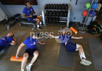 Press Eye - Belfast -  Northern Ireland - 31st May 2018 - Photo by William Cherry/Presseye. Northern Ireland\'s Liam Boyce during Thursday mornings recovery session at the team Hotel in San Jose, Costa Rica ahead of the International Friendly on the last leg of their tour of Central America.. Photo by William Cherry/Presseye