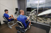 Press Eye - Belfast -  Northern Ireland - 31st May 2018 - Photo by William Cherry/Presseye. Northern Ireland\'s Craig Cathcart and Liam Boyce during Thursday mornings recovery session at the team Hotel in San Jose, Costa Rica ahead of the International Friendly on the last leg of their tour of Central America.. Photo by William Cherry/Presseye