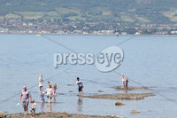 Press Eye Belfast - Northern Ireland 17th July 2017. People enjoy the sunny and warm weather at Seamark outside Holywood in Co. Down. . . Picture by Jonathan Porter/PressEye.com.