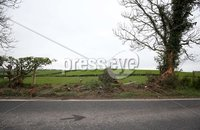 Press Eye - Northern Ireland - 19th April 2017 - Photographer - © Matt Mackey / Presseye.com. An 18-year-old man has died following a crash on the Ballydugan Road outside Downpatrick.. Police said he was the driver of a car that was involved in a collision at about 22:30 BST on Tuesday. No other vehicle was involved.. The Ballydugan Road (pictured) was closed between Bonecastle Road and Buckshead Road but has now reopened..