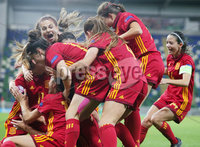 France v Spain U19 Womens Final, Windsor Park
