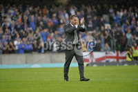 Press Eye - Belfast - Northern Ireland -14th July. Photo by Stephen Hamilton  / Press Eye.. Champions league qualifying match first leg between Linfield and Celtic at Windsor park in Belfast..  Celtics manager Brendan Rogers pictured after todays game.