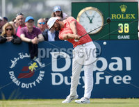 2018 Dubai Duty Free Irish Open, Ballyliffin Golf Club, Co. Donegal 8/7/2018. Erik van Rooyen tees off the 1st. Mandatory Credit ©INPHO/Oisin Keniry