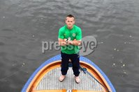 ©Press Eye Ltd Northern Ireland - 1st June 2012. Mandatory Credit - Picture by Darren Kidd/Presseye.com .  .  Northern Ireland manager and captain press conference ahead of their international friendly against Holland in Amsterdam on Saturday evening.. Northern Ireland captain Sammy Clingan