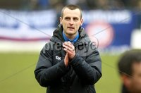 Danske Bank Premiership Play-Off, The Ballymena Showgrounds, Co. Antrim 7/4/2018 . Coleraine vs Cliftonville. Oran Kearney Coleraine manager. Mandatory Credit ©INPHO/Freddie Parkinson
