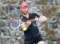 Press Eye Belfast - Northern Ireland 14th July 2017. Co. Antrim Tennis semi-finals at Ballycastle Tenni sClub.. Gareth McCreevy. Picture by Jonathan Porter/PressEye.com.