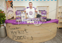 Press Eye - Belfast - Northern Ireland - 15th May 2019. First day of the Balmoral Show, in partnership with Ulster Bank.  Pictured at Balmoral Park, outside Lisburn, is Jack Morton with his Jack\'s Fudge business.  Ulster Bank has provided space in its market at Balmoral Show to entrepreneurs from Ulster Bank\'s Entrepreneur Accelerator programme as well as small business customers. . . Picture by Jonathan Porter/PressEye. .