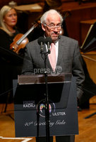 Press Eye - Belfast -  Northern Ireland - 14th December 2015 - Photo by William Cherry. Simon Callow pictured at the BBC Radio Ulster 40th Birthday gala concert at the Ulster Hall, Belfast.