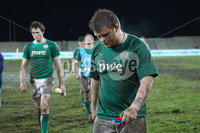IRB Junior World Championship Pool B, Danie Craven Stadium, Stellenbosch, South Africa 8/6/2012. England vs Ireland. Dejected Irish players leave the field. Mandatory Credit ©INPHO/Ron Gaunt