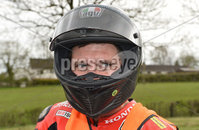 Mandatory Credit: Rowland White / PressEye. Motor Cycle Racing: 57th Tandragee 100 . Venue: Tandragee. Practice Day. Date: 21st April 2017. Caption: Guy Martin