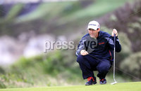 ©Press Eye Ltd Northern Ireland -29th June 2012. Mandatory Credit - Picture by Darren Kidd/Presseye.com .  . 2012 Irish Open Pro Am at Royal Portrush..  Day 2 - Padraig Harrington on the 5th
