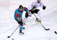Press Eye - Belfast -  Northern Ireland - 12th January 2018 - Photo by William Cherry/Presseye. Belfast Giants Matt Towe during Friday nights Elite Ice Hockey League game at the SSE Arena, Belfast.