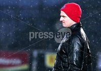 Bet McLean Cup Semi-Final, Showgrounds, Co. Antrim 10/2/2018. Ballymena United vs Cliftonville. Cliftonville manager Barry Gray. Mandatory Credit ©INPHO/Jonathan Porter