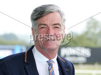 Press Eye - Belfast - Northern Ireland - 11th September 2015 - . Summer Race Evening at Down Royal Racecourse . David Anderson pictured at Down Royal . . Picture by Kelvin Boyes / Press Eye..