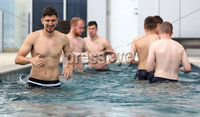 Press Eye - Belfast -  Northern Ireland - 31st May 2018 - Photo by William Cherry/Presseye. Northern Ireland\'s Craig Cathcart in the pool during Thursday mornings recovery session at the team Hotel in San Jose, Costa Rica ahead of their International Friendly on the last leg of their Central America tour.. Photo by William Cherry/Presseye
