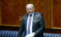 Presseye.com. 21/10/2019. TUV Leader Jim Allister pictured at Stormont  chamber where local MLAs returned to the chamber to debate laws on abortion and same sex marriage which will change at midnight  tonight .. Mandatory Credit Stephen Hamilton /Presseye
