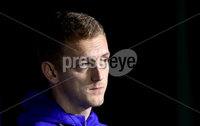 Press Eye - Belfast, Northern Ireland - 13th October 2020 - Photo by William Cherry/Presseye. Northern Ireland\'s George Saville during Tuesday nights press conference at the Ullevaal Stadium ahead of Wednesdays UEFA Nations League game against Norway in Oslo. Photo by William Cherry/Presseye