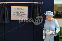 ©Press Eye Ltd - Northern Ireland - 26th June 2012. Mandatory Credit - Photo by Andrew Paton/Presseye.com, Queen Jubile Visit to Enniskillen Northern Ireland. The Queen at the South West Acute Hopital, Enniskillen.