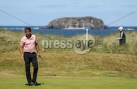 2018 Dubai Duty Free Irish Open - Day 1, Ballyliffin Golf Club, Co. Donegal 5/7/2018. Robert Rock on the 15th hole. Mandatory Credit ©INPHO/Oisin Keniry