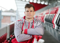 Press Eye Belfast - Northern Ireland 6th December 2017. Ulster Rugby press conference at the Kingspan Stadium in east Belfast ahead of their European Rugby Champions Cup match against Harlequins at Twickenham on Sunday. . Louis Ludik. Picture by Jonathan Porter/PressEye.com