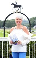 Press Eye - Belfast - Northern Ireland - 13th July 2017 . Downpatrick racecourse family fun race day.. Pamela Ballantine. Picture by Matt Mackey / presseye.com.