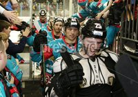 11 November 17, Mandatory Credit ©Press Eye/Darren Kidd.  Belfast Giants Blair Riley after Saturday nights Elite League game at the SSE Arena, Belfast. Photo by Darren Kidd/Presseye