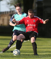 ©/Presseye.com - 17th July 2017.  Press Eye Ltd - Northern Ireland - Hughes Insurance Foyle Cup 2017- U-17 - Derry City V Willowbank FC (Belfast). Derry\'s Ethan Harkin and Williowbank\'s Conor McCullough..  . Mandatory Credit Photo Lorcan Doherty / Presseye.com