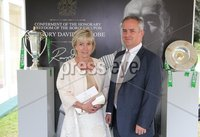 Press Eye - Belfast - Northern Ireland - 8th September 2018 - . Helen Brown and Wayne Brown pictured at the Archbishop's Palace in Armagh along with friends and family of Dr Rory Best OBE to witness the sportsman's conferment with the Freedom of the Borough of Armagh City, Banbridge and Craigavon..  . Photo by Kelvin Boyes / Press Eye..