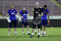 Press Eye - Belfast -  Northern Ireland - 28th May 2018 - Photo by William Cherry/Presseye. Northern Ireland manager Michael O\'Neill during Monday evenings training session at the Estadio Rommel Fernandez, Panama City.
