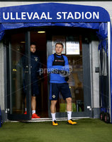 Press Eye - Belfast -  Northern Ireland - 07th October 2017 - Photo by William Cherry/Presseye. Northern Ireland\'s Steven Davis during Saturdays nights training session at the Ullevaal Stadion, Oslo ahead of Sundays World Cup Qualifier against Norway.   Photo by William Cherry/Presseye